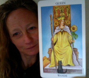Queen of Wands - Rider Waite