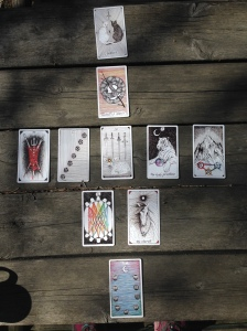 The Wild Unknown Tarot Divorce Spread