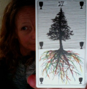 6 of Cups Wild Unknown Tarot