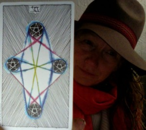 4 of pentacles Wild Unknown