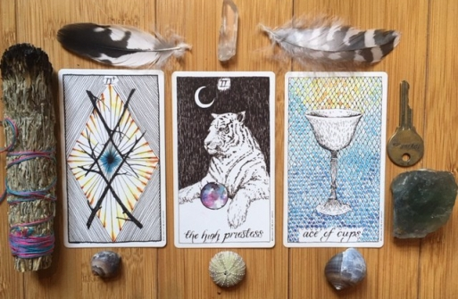 tarot by the moon